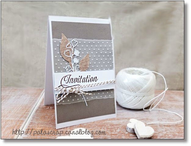 Le temps des invitations