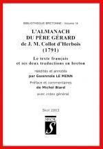 Alamanach du Père Gérard éd Le Menn