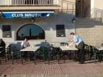 Porto Colom, le bar Club Nautic 121113