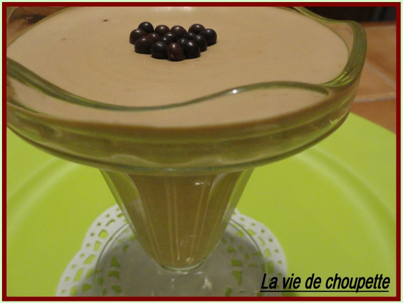 MOUSSE DE MASCARPONE AU CAFE