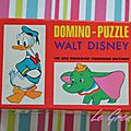 Domino puzzle walt disney fernand nathan