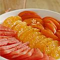 Plein de fraîcheur, plein de fruits et plein de couleur orange !