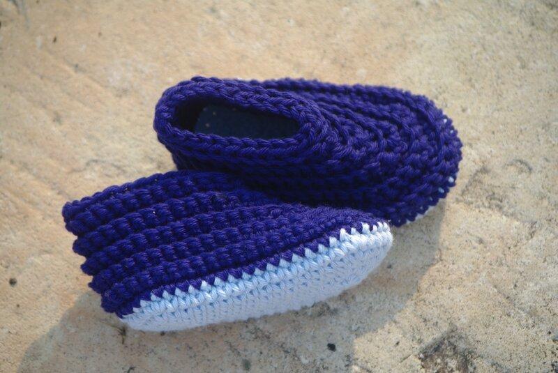 crocheter des chaussons pour bébé