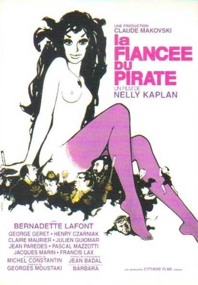 CPM Bernadette Lafont La fiancée du pirate 2