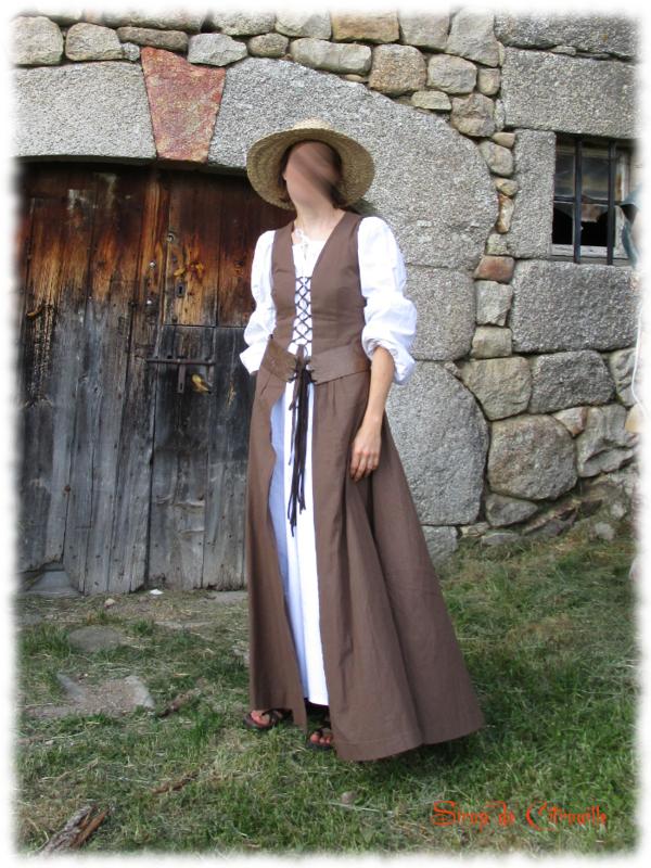 robe médiévale 1