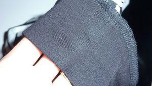 couture cote jersey noir