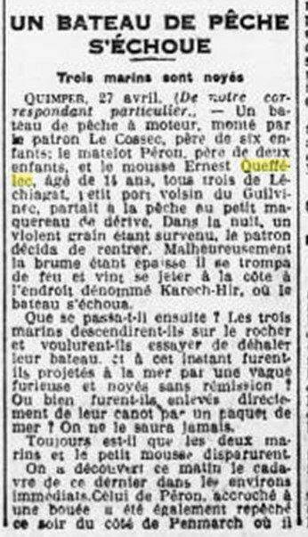 1927 le 28 avril Ernest Queffelec_2