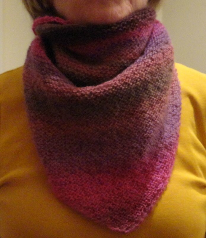 Simple luxury scarf