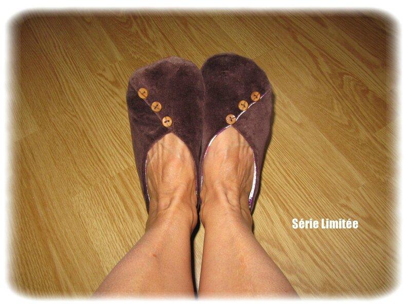 chaussons marrons boutonnés (3)