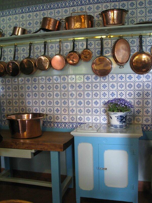 la maison de Monet, cuisine