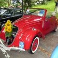 La peugeot 202 coupé 1938 (33ème internationales oldtimer-meeting baden-baden)
