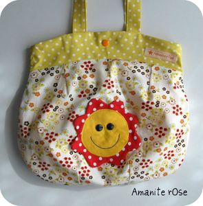 Sac boule smiley