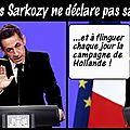 Pourquoi nicolas sarkozy ne s'est-il pas encore déclaré officiellement candidat ? son explication...