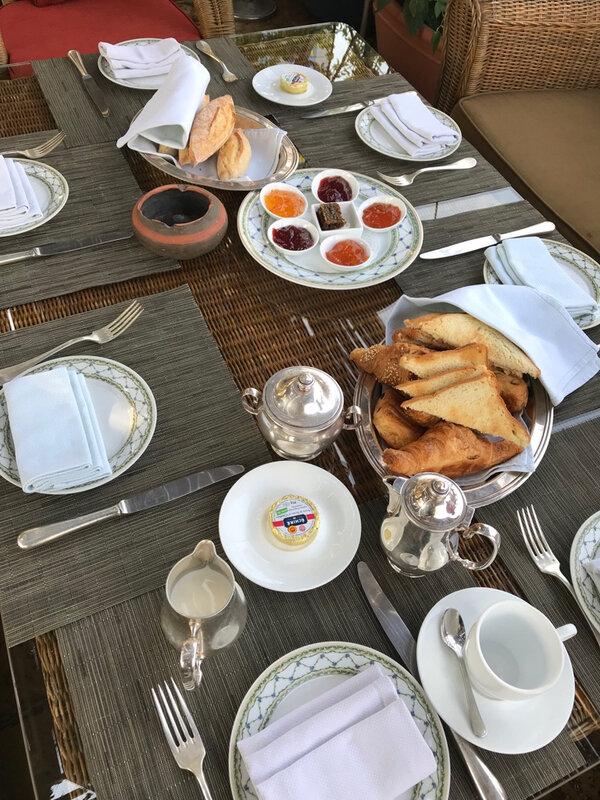 Albergo petit déjeuner