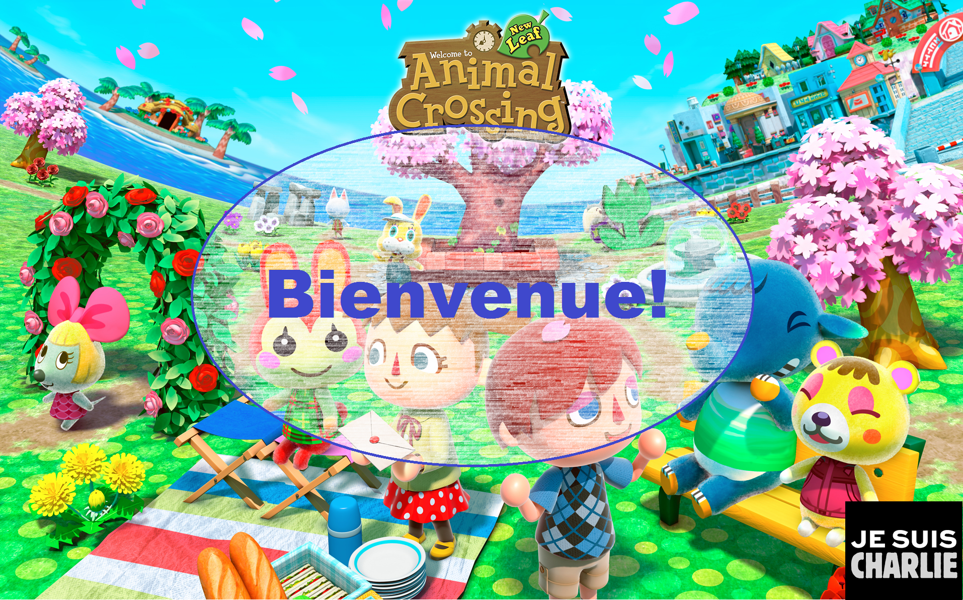 Acnl tous les messages sur acnl - Animal crossing new leaf salon de detente ...