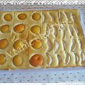 Tartelettes aux abricots et poires