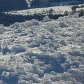 2008 11 27 Du givre sur l'herbe, sa donne sa au sommet du Lizieux