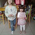 Cousettes de printemps #3: les tuniques fleuries