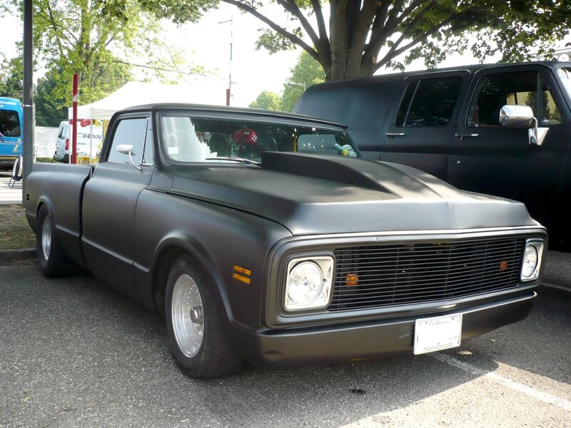 CHEVROLET C-10 2door pick-up Custom 1972 Illzach (1)