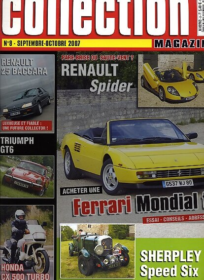 AutomotoCollection-n°8/sept.2007