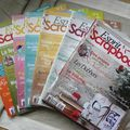 Je vends: magazines de scrap!