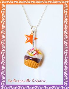 Collier cup cake aux fruits (3)