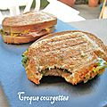 Croque-courgettes