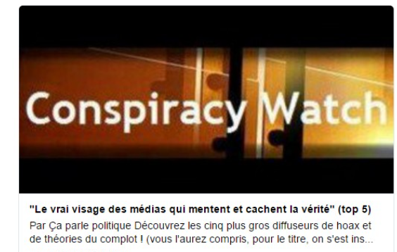 conspiracy watch 1
