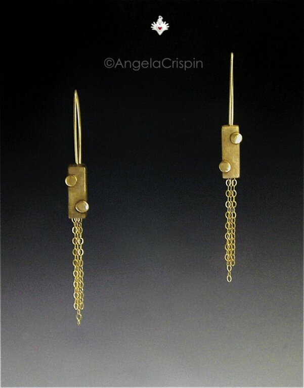2Dots_Bronze_earrings_boucles_AngelaCrispin_bijoux