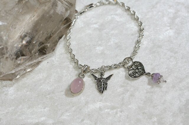 bracelet fee quartz rose2