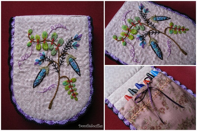 BRODERIEpetits pois