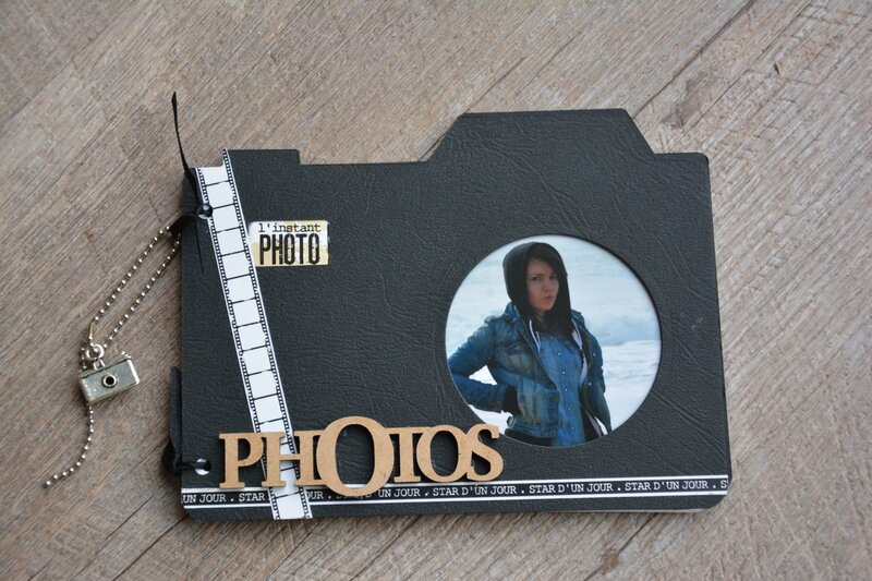 Album appareil photo le scrap de marief - Idee scrapbooking album photo ...