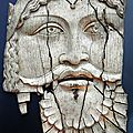 Ivory plaque depicting dionysus, 1st.century.b.c.- 1st.century. a.d., sepino, italy