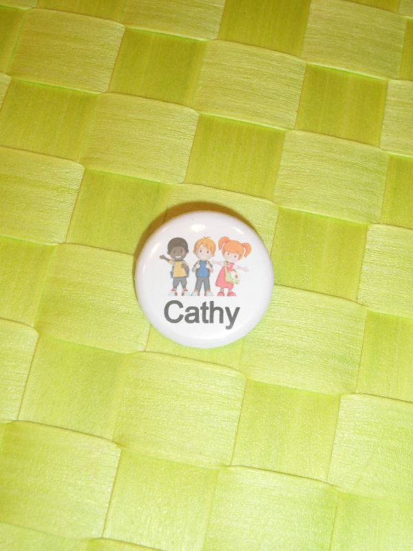 badge cathy