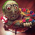 Gâteau zombie