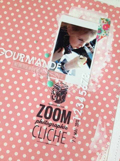 page gourmande...