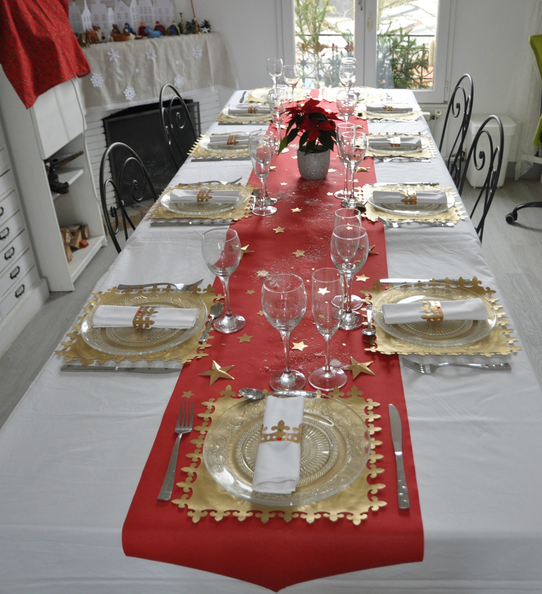 Ma d co de table epiphanie 2016 100 fait main id ecr ation for Decoration epiphanie
