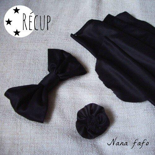 Lundi r cup noeud papillon en tissu nana fafo crochet et petites histoires - Comment faire un noeud papillon en tissu ...