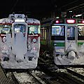 JR 711 721, Sapporo station