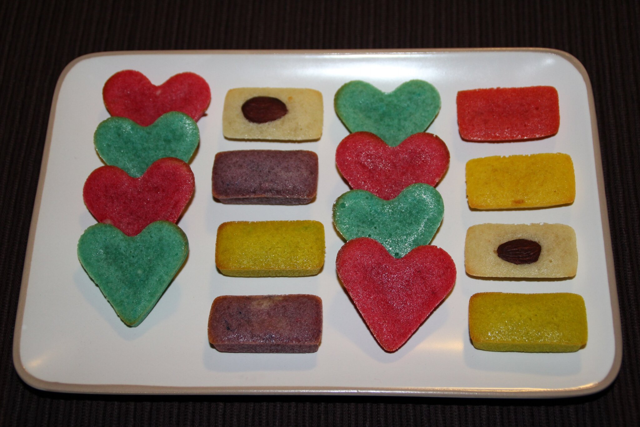 FINANCIERS MULTICOLORES