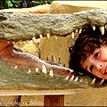 Que faire avec des enfants près de poitiers ?? la planète des crocodiles à civaux !!