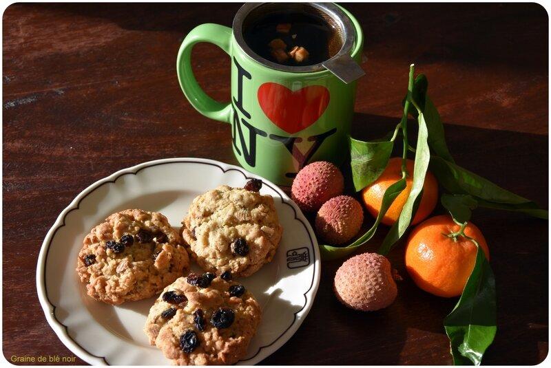 Biscuit avoine raisins secs