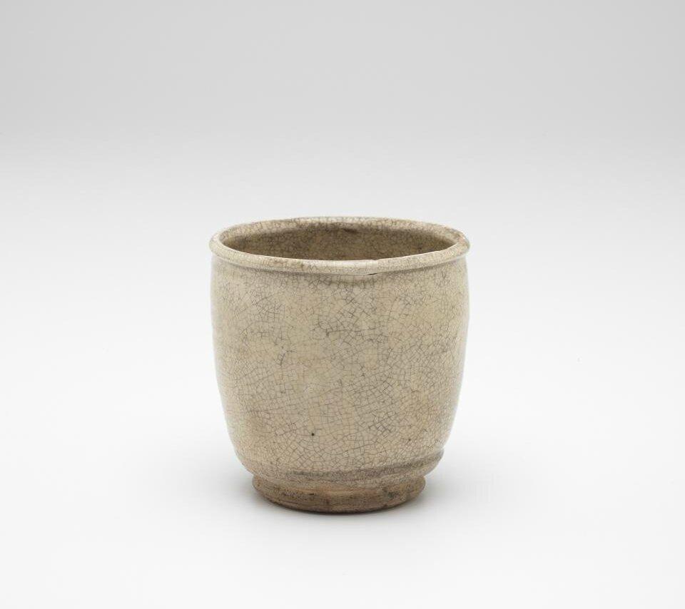 Beaker with small foot ring, Vietnam, 13th century-14th century