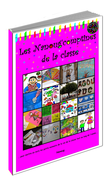 450PNG 3D Comptines classe