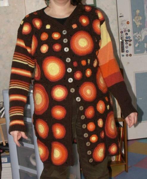 crochet_tricot_gilet lumiere 3