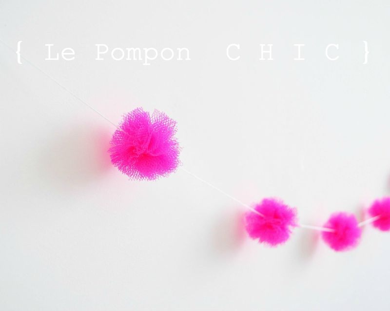 pompon neon