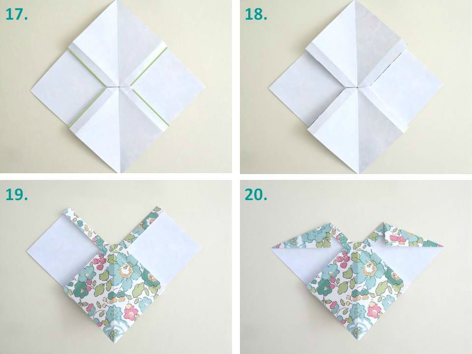 Tuto origami noeud - Origami simple a realiser ...