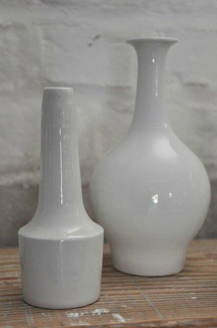 vases blancs nordique