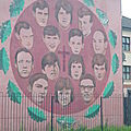 Bogside Mural - Victimes du Bloody Sunday