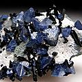 Benitoite and neptunite